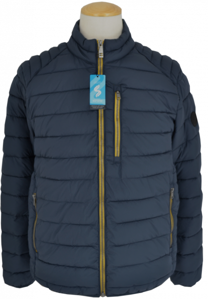 Outdoor Steppjacke in marine blau
