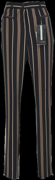 Gerade geschnittene Streifenhose