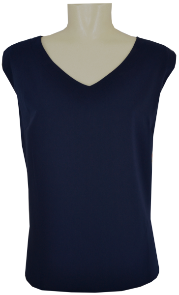 Top in navy blau
