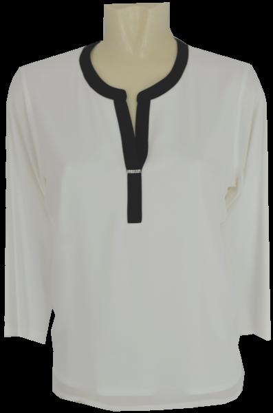 3/4 Arm T-Shirt mit V-Ausschnitt