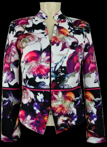 Jacke in mulitcolor mit offwhite und 1/1 Arm