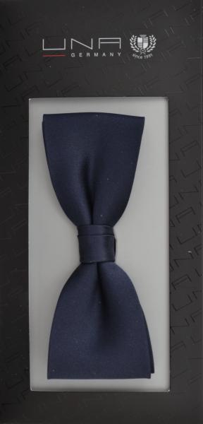 Schleife in uni dunkel blau