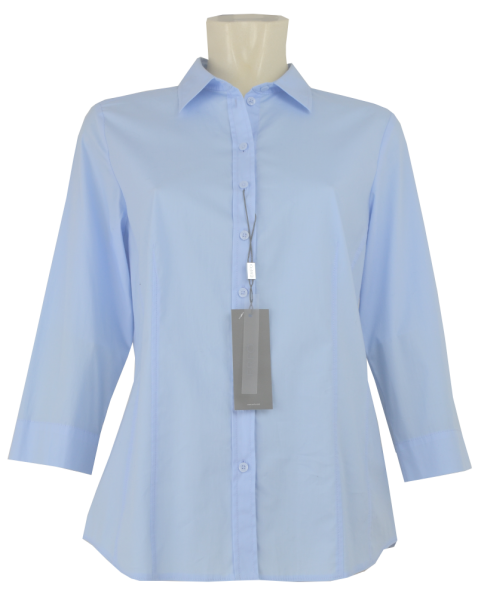 3/4 Arm Bluse in bleu