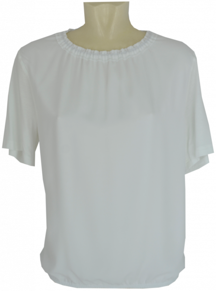 1/2 Arm Blusen-Shirt in uni ecru