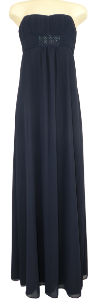 Ballkleid lang in Evening Blue