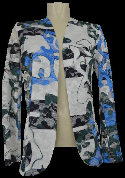 Leicht transparente Jacke aus feiner Spitze