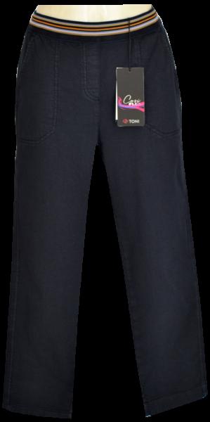3/4 lange Jogpant in dark blue