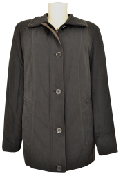 Outdoor Jacke in schwarz