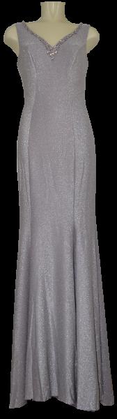 Ballkleid lang in silver-lilac