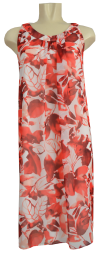 Etuikleid in Red Pink Shades