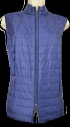 Outdoor Steppweste in blau
