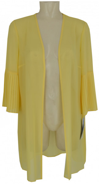 Blusenshirt in sunshine-yellow