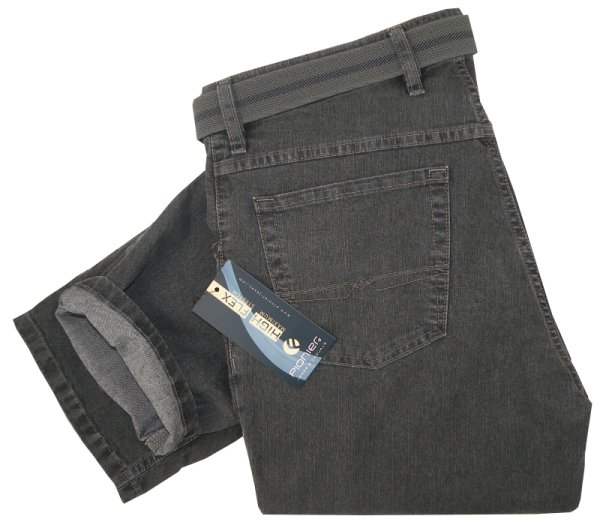 Bequeme Jeans in Anthra-Grau