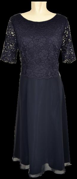 Mittellanges Kleid in night sky