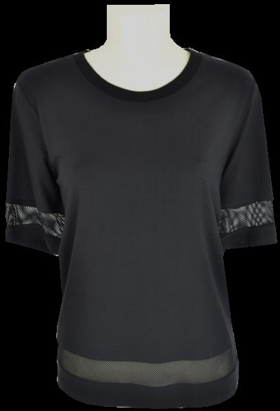 1/2 Arm Shirt in schwarz