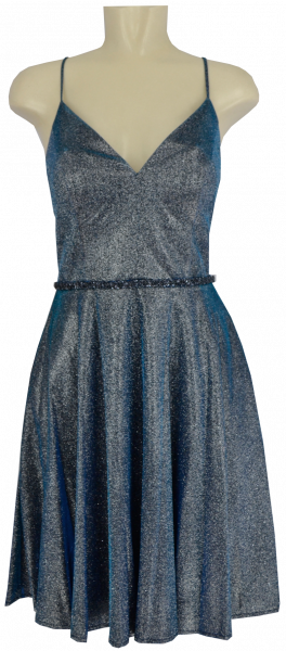 Cocktailkleid in Silver-Blue