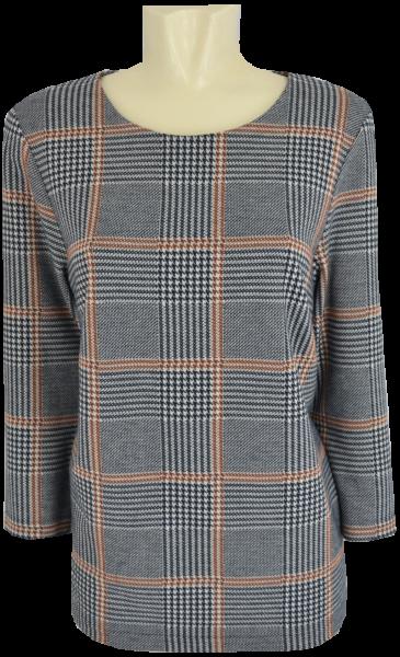 Shirt-Pulli im Glencheck Dessin