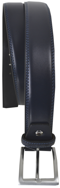 Herren Ledergürtel in marine blau-Copy