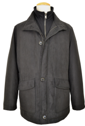 Outdoor Jacke in Anthrazit