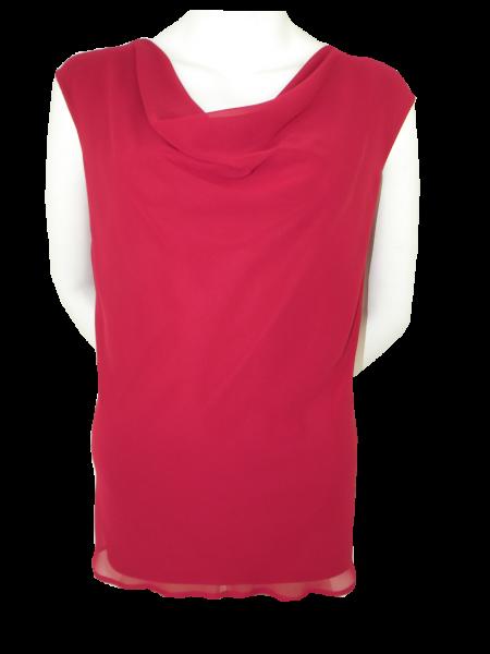 Festliches Shirt in rumba-red