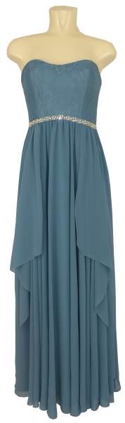 Ballkleid lang in powder blue