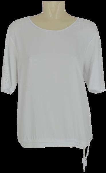 1/2 Arm Blusen Shirt in weiß