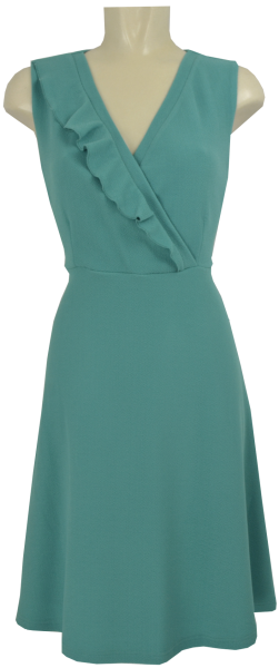 Sommerliches Kleid in emerald green