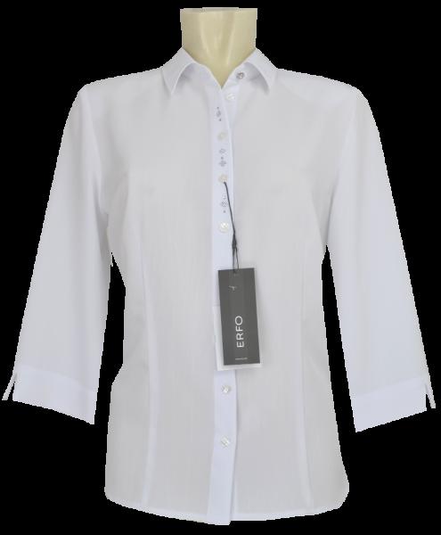 3/4 Arm Bluse in weiß