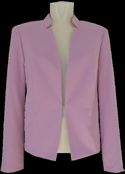 Eleganter Blazer in uni rosenholz