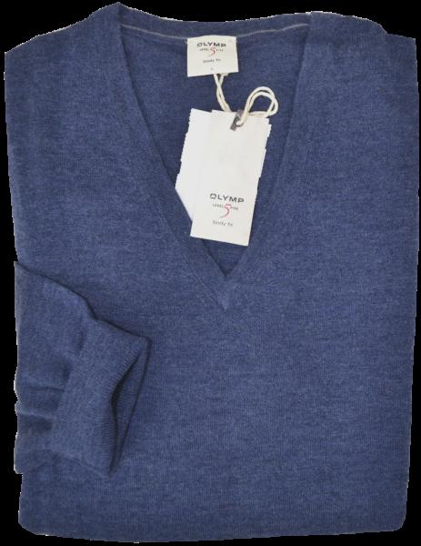 LEVEL FIVE Pullover in Jeans-Blau