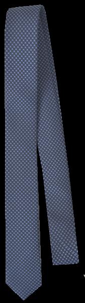 Krawatte reine Seide in mittel blau fein gemustert