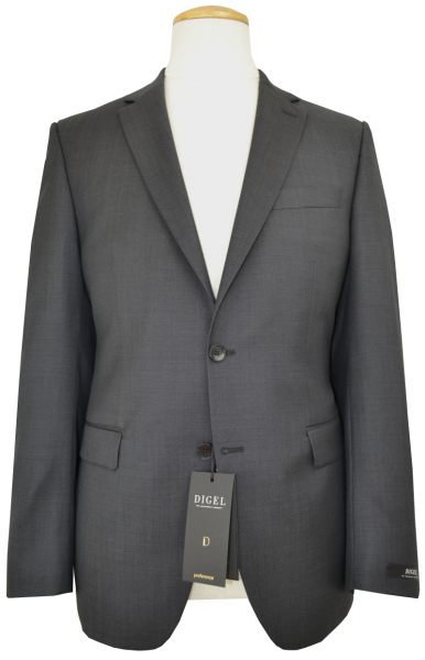 Anzug Blazer in anthrazit mit feiner Struktur