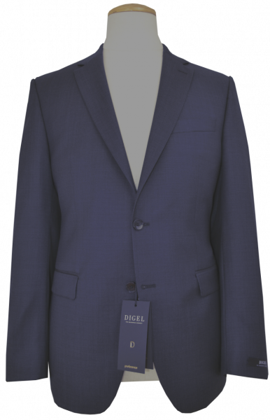 Anzug Blazer in mittel blau mit Struktur