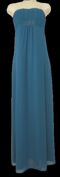 Ballkleid lang in shadow blue