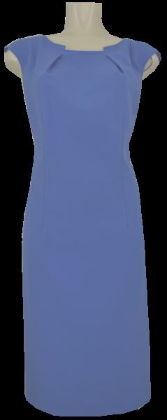 Mittellanges Kleid in rauchblau
