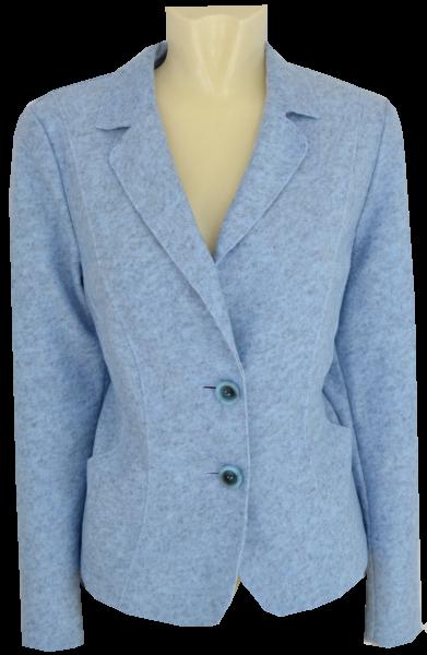 Blazer Jacke in bleu meliert