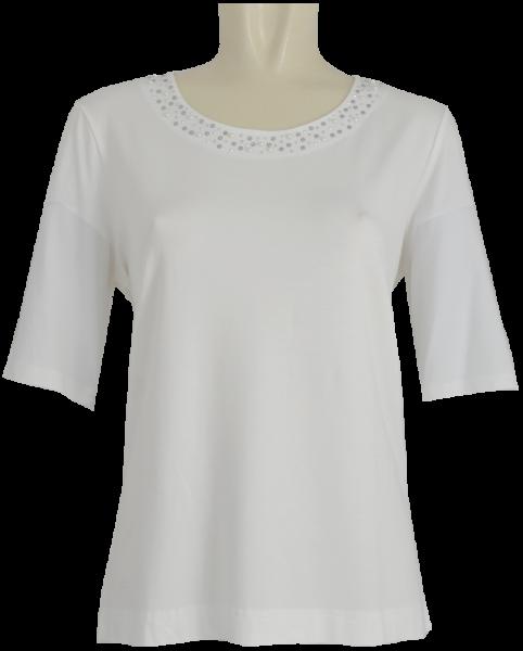 1/2 Arm Shirt in weiß