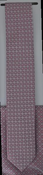 Krawatte mit Tuch in alt rose