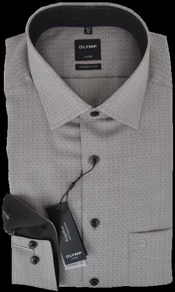 Freizeit -und Business Hemd in beige mit Struktur