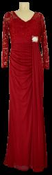 Langes Abendkleid in Rot