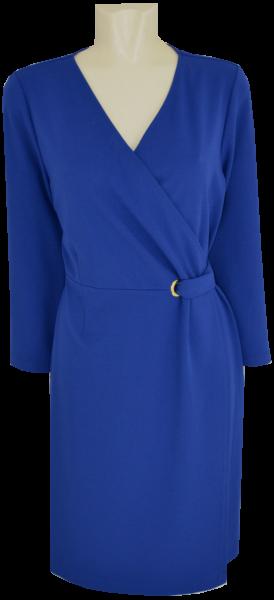 Sportives Kleid in royal-blau