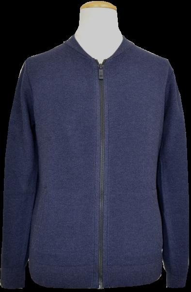 Cardigan Strickjacke in blau