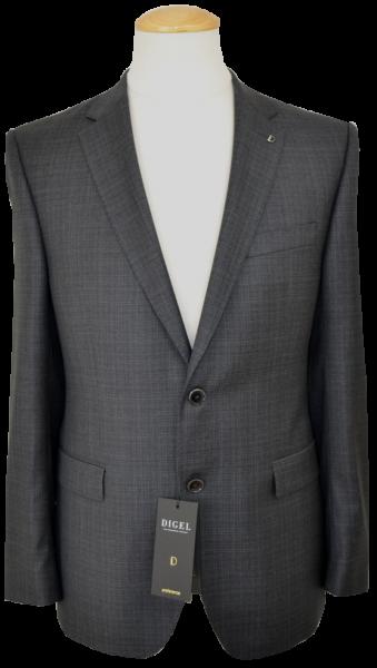 Anzug Blazer in anthrazit mit Struktur