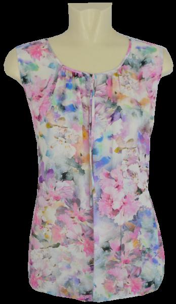 Blusen Top in floral gemustert-Copy
