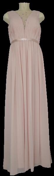 Ballkleid lang in rose blush