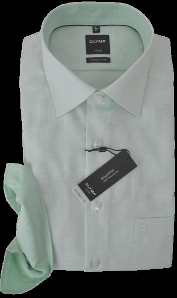 Business Hemd mit Struktur in hell grün