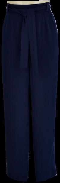 Gerade geschnittene Hose in navy
