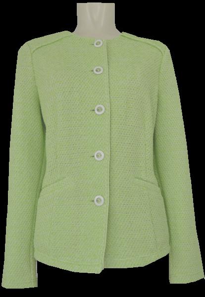 Blazer Jacke mit 1/1 Arm in hell grün