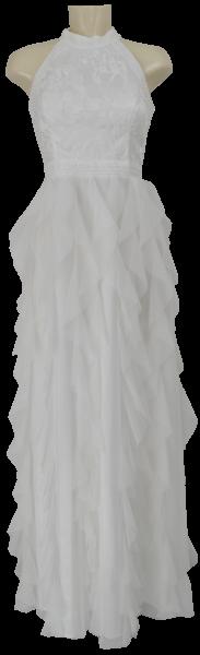 Langes Brautkleid in ivory white
