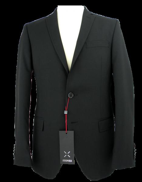 SLIM FIT Blazer in schwarz